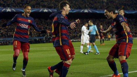 Barcellona Roma 6-1