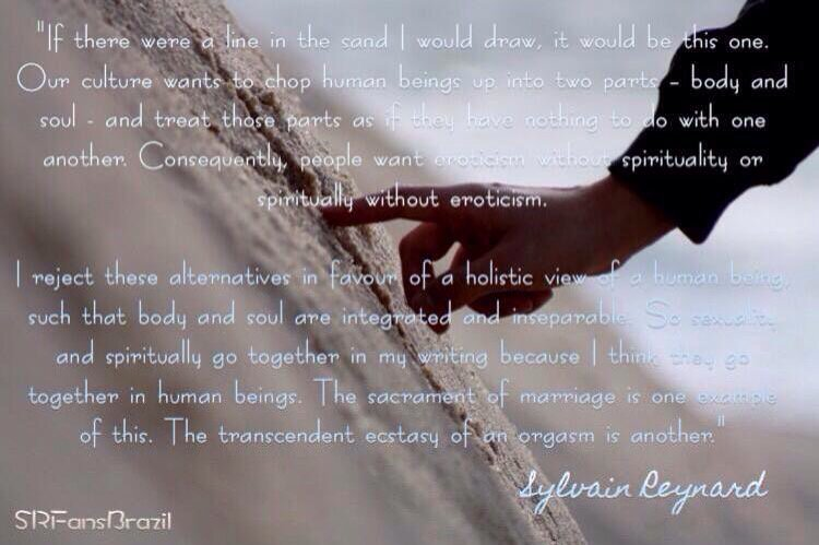 Srfansbrazil On Twitter If Sylvainreynard Could Draw A Line In