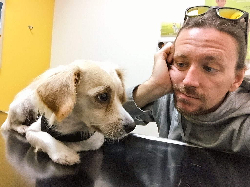 Danny Duncan On Twitter First Vet Visit With The Lil Guy