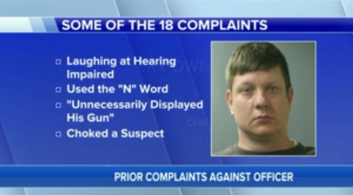#JasonVanDyke, who shot #LaquanMcDonald 16 times, previously had 18 complaints filed against him https://t.co/IUZZNJNFgV