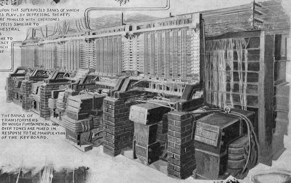 RT @atlasobscura: The telharmonium and the revolutionary idea of music as a service https://t.co/xsNkJrWo8M https://t.co/XuHSpgfBVp