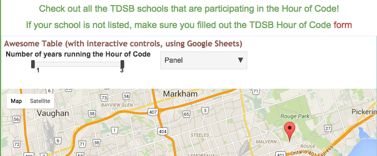 Thumbnail for TDSB Hour of Code 2015