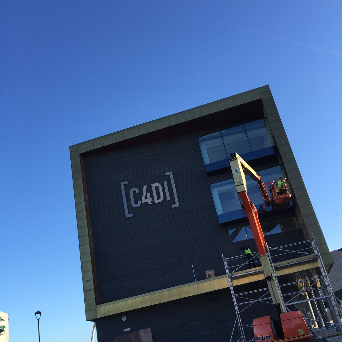 Liking the sign on the @C4Dihull #newC4DI https://t.co/p55NFTestq