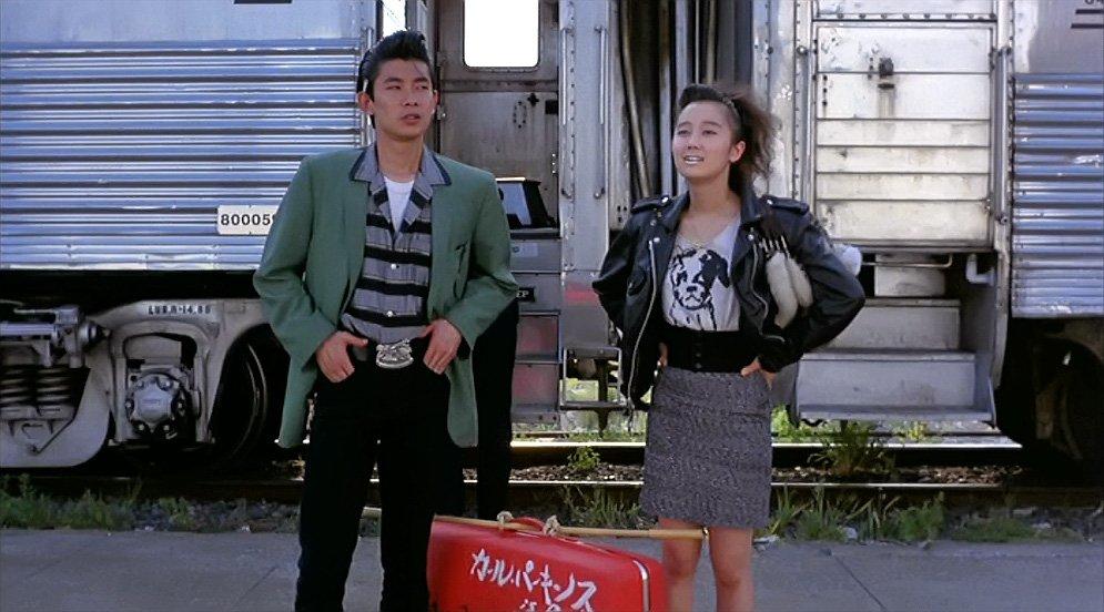 """ストロベリーナイト Pinterest: Cool Japanese Rocker Fashion In Jim Jarmusch's Classic 1989 Film """"mystery Train"""". (via"""