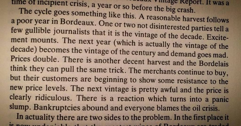Nothing changes. This paragraph about Bordeaux was published 30 years ago! https://t.co/XoMUxYuILR https://t.co/Gr0el6CAix