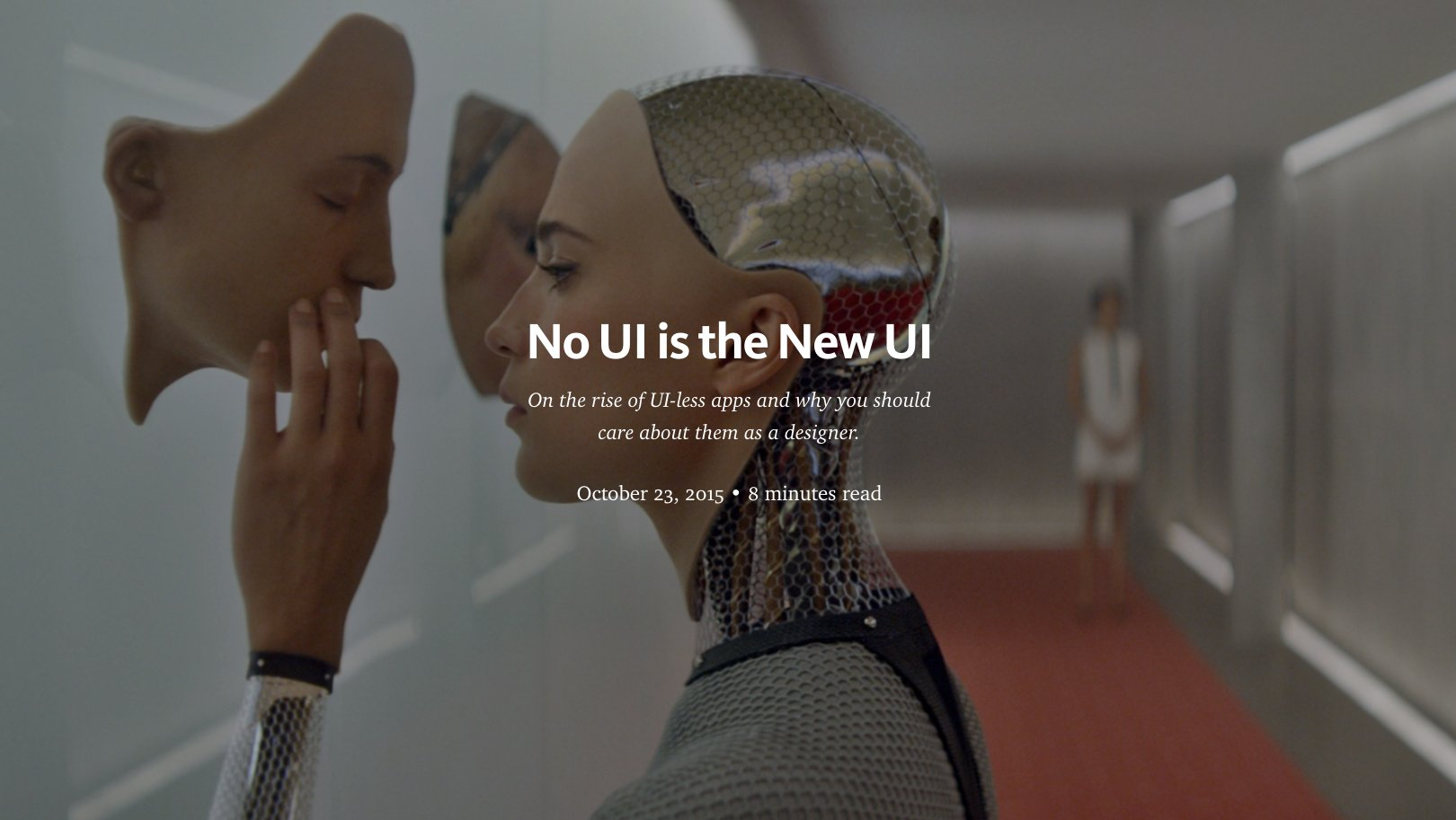 "RT @wdtrends: ""No UI is the New UI"" by @aubetony https://t.co/aej2dOaFGd https://t.co/WWHmZD1lQk"