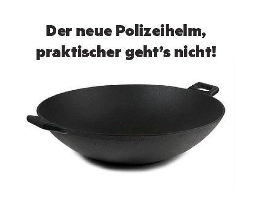 Новую форму немецких полицейских высмеяли в соцсетях