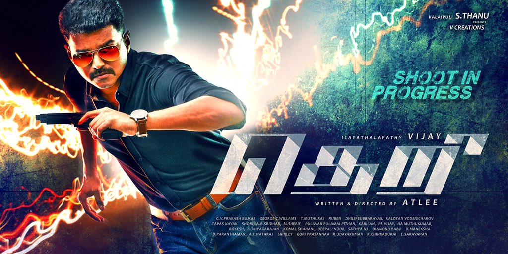 Vijay 59 Titled Theri a mass Title for Thalapathy Vijay. Ilayathalapathy Vijay, Vijay 59, First look, Mass, Action, Thalapathy 59, Their First look,