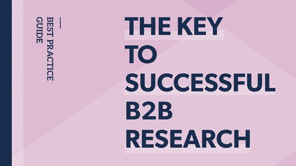 Thanks to @circle_research for helping with our guide, 'The key to successful B2B research' https://t.co/Rjtfqx11mx https://t.co/di1lpL4QJ4
