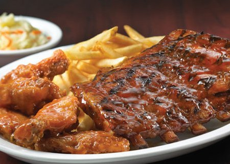 Image result for ribs and wings