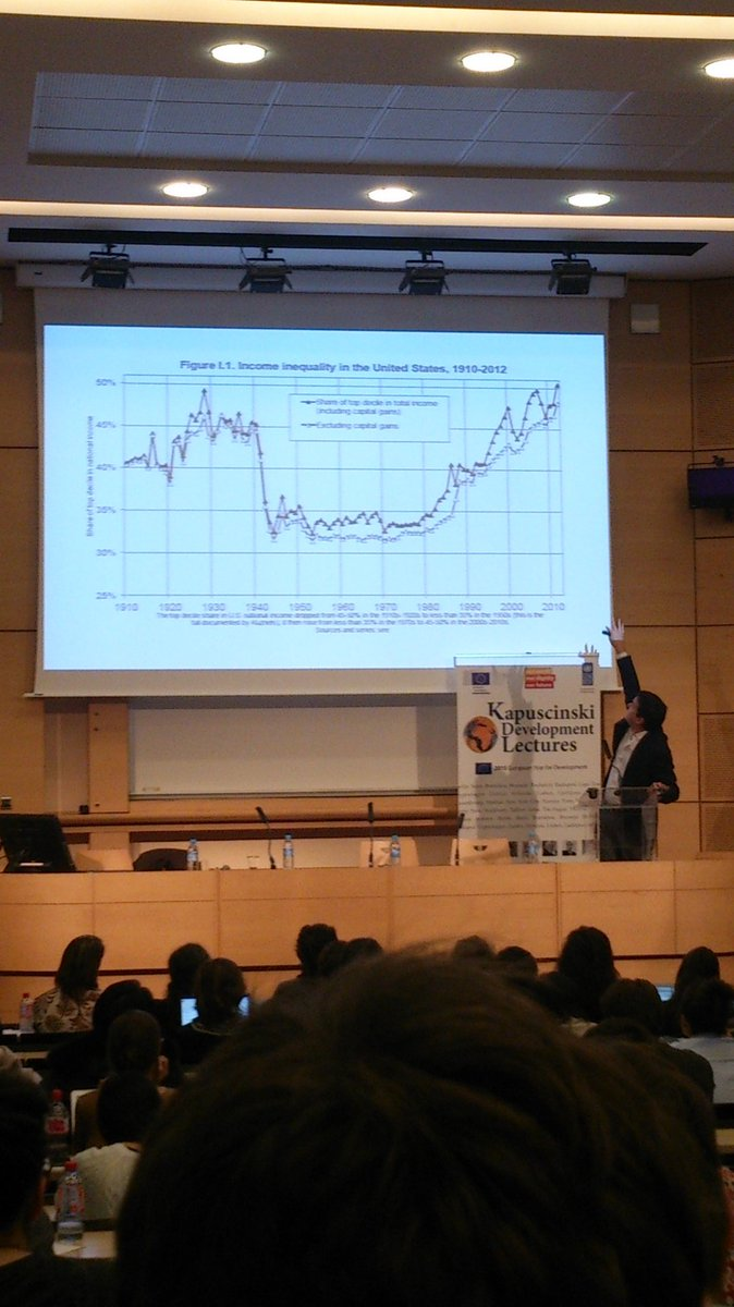 #Piketty and his prime argument: the return of #inequality. #KAPTalks https://t.co/UELal5c9yS