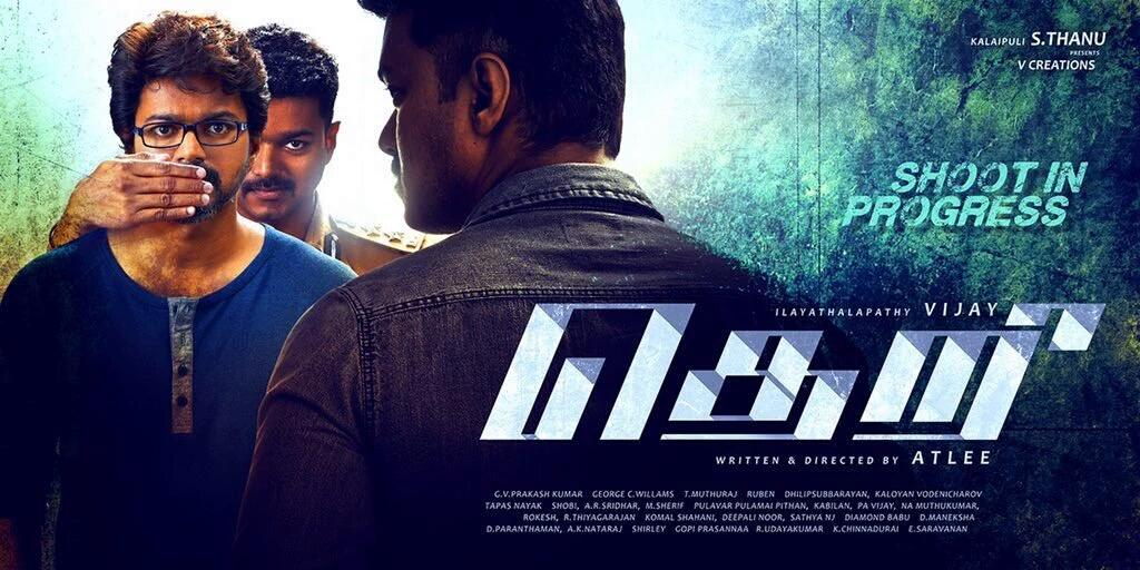 So many puzzles in one poster. Minute yet sharp variations for vijay. A #theri design for sure!! https://t.co/1qN0QZW1MJ