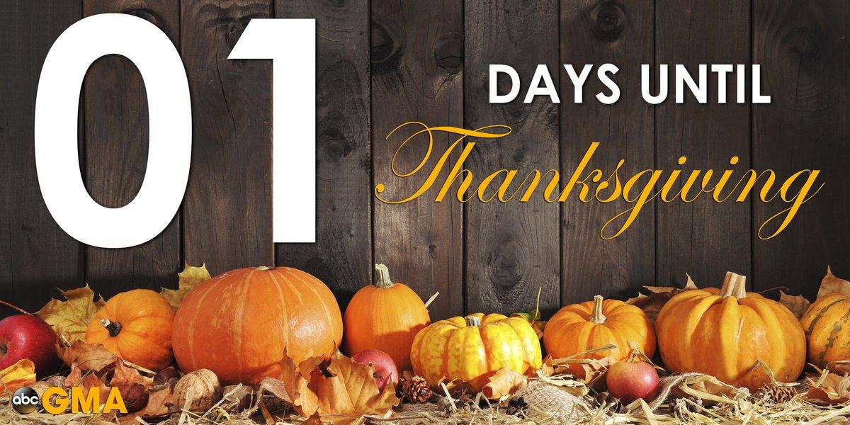 Good Morning America On Twitter Happy Thanksgiving Eve Httpst