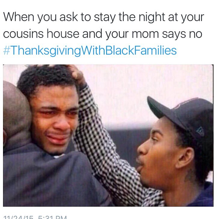 Hurt to the core #ThanksgivingWithBlackFamilies https://t.co/3OhrweaHHg