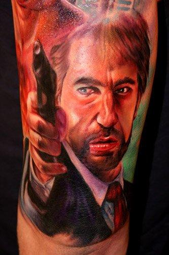 Mark Millar On Twitter Finally Got A Tattoo Hans Gruber