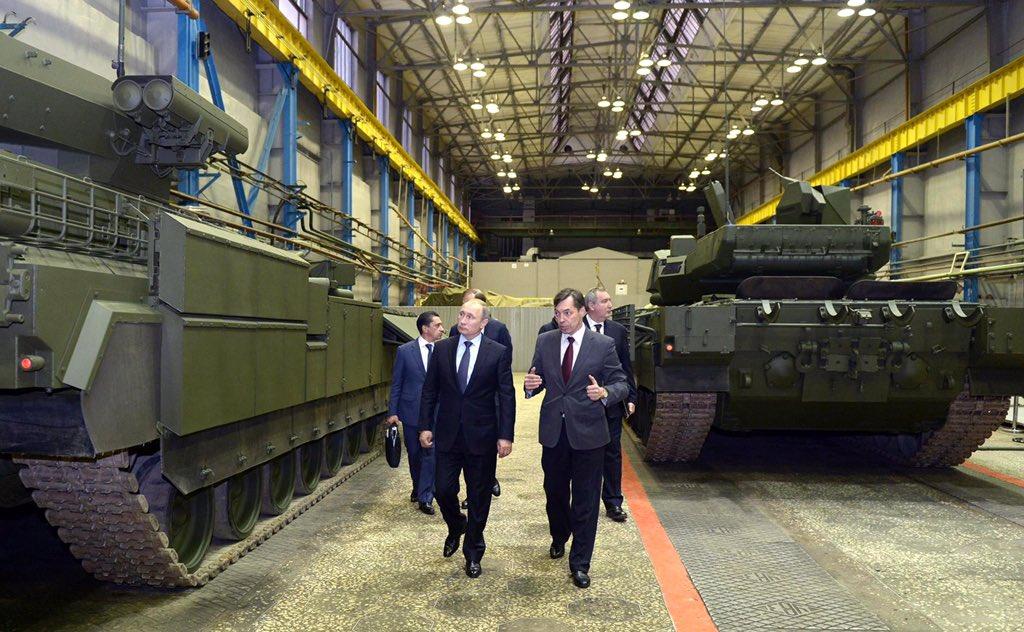 Uralvagonzavod (UVZ) tank manufacturer CUqPLotVEAAyAU4
