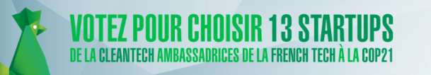 Votez pour @qucit, candidat à la @COP21 https://t.co/zElXLqfNmY… #cleantech @FrenchTechBx #startup @Bdx_Technowest