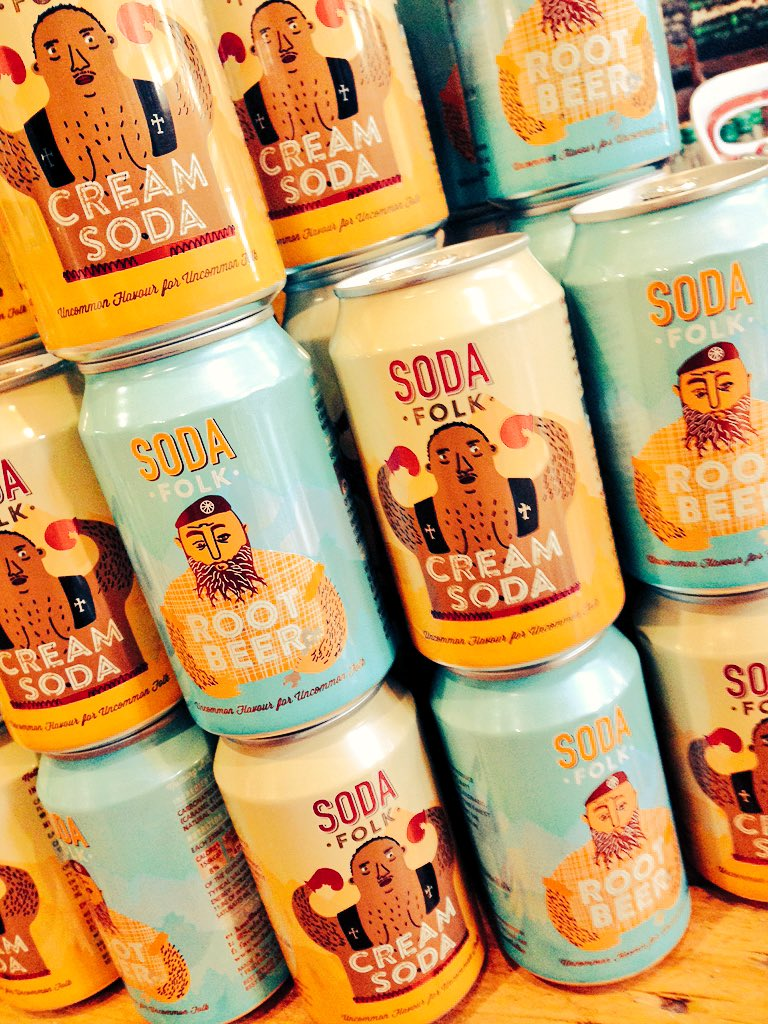 RT @Deliflavour: Now rocking fab #creamsoda & #rootbeer from @SodaFolk @thesilverarcade cool cans + yummy American vibes #Leicester https:/…