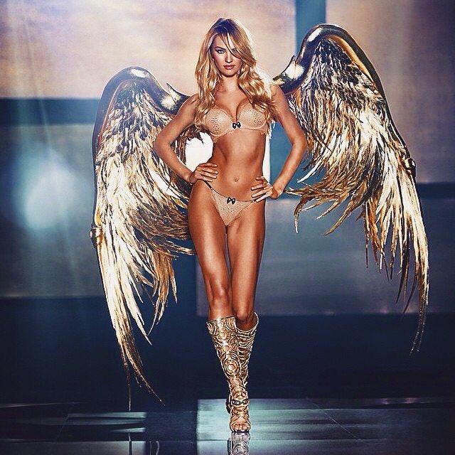 La modella sudafricana Candice Swanepoel.
