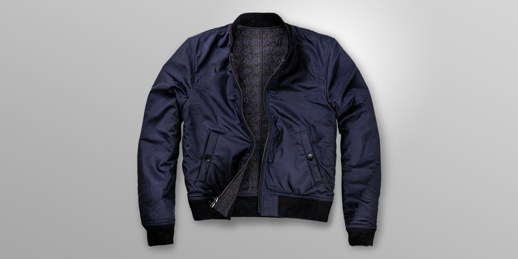 Follow @Superdry & RT this post for your chance to win this Monogram Bomber from the #IdrisElbaXSuperdry collab