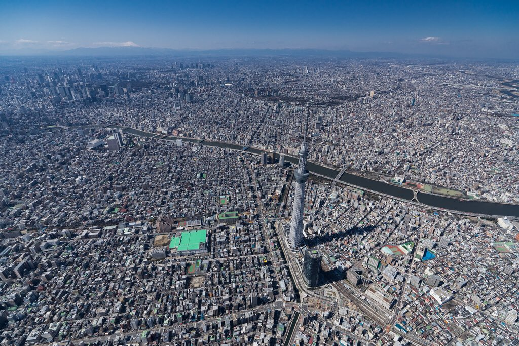 RT @ThamKhaiMeng: Tokyo - pop 38 million - this Godzilla of a city is the most efficient and largest global megacity in the world. https://…