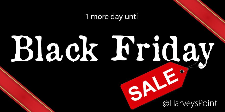 Here's an early #BlackFriday treat for you!
