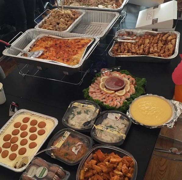 In anticipation of #Thanksgiving, the #NYC office celebrated with a #Friendsgiving #potluck https://t.co/OARPNdKDut https://t.co/Wi7fIQmhNz