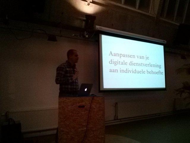 .@royscholten definieert #personalisatie. #contentcafe ^BE https://t.co/AssxE2zjmo