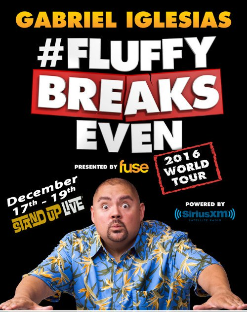 JUST ANNOUNCED: @fluffyguy #FluffyBreaksEvenTour On Sale RIGHT NOW! Get your tix here https://t.co/akVGsRmlpc https://t.co/ULkP1lfjIN