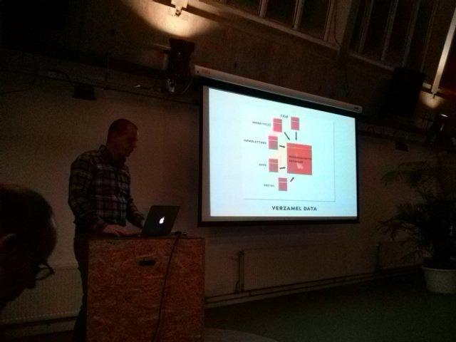 Voorwaarde 1: verzamel en koppel data. @royscholten #contentcafe ^BE https://t.co/Xg1Py41ZhF