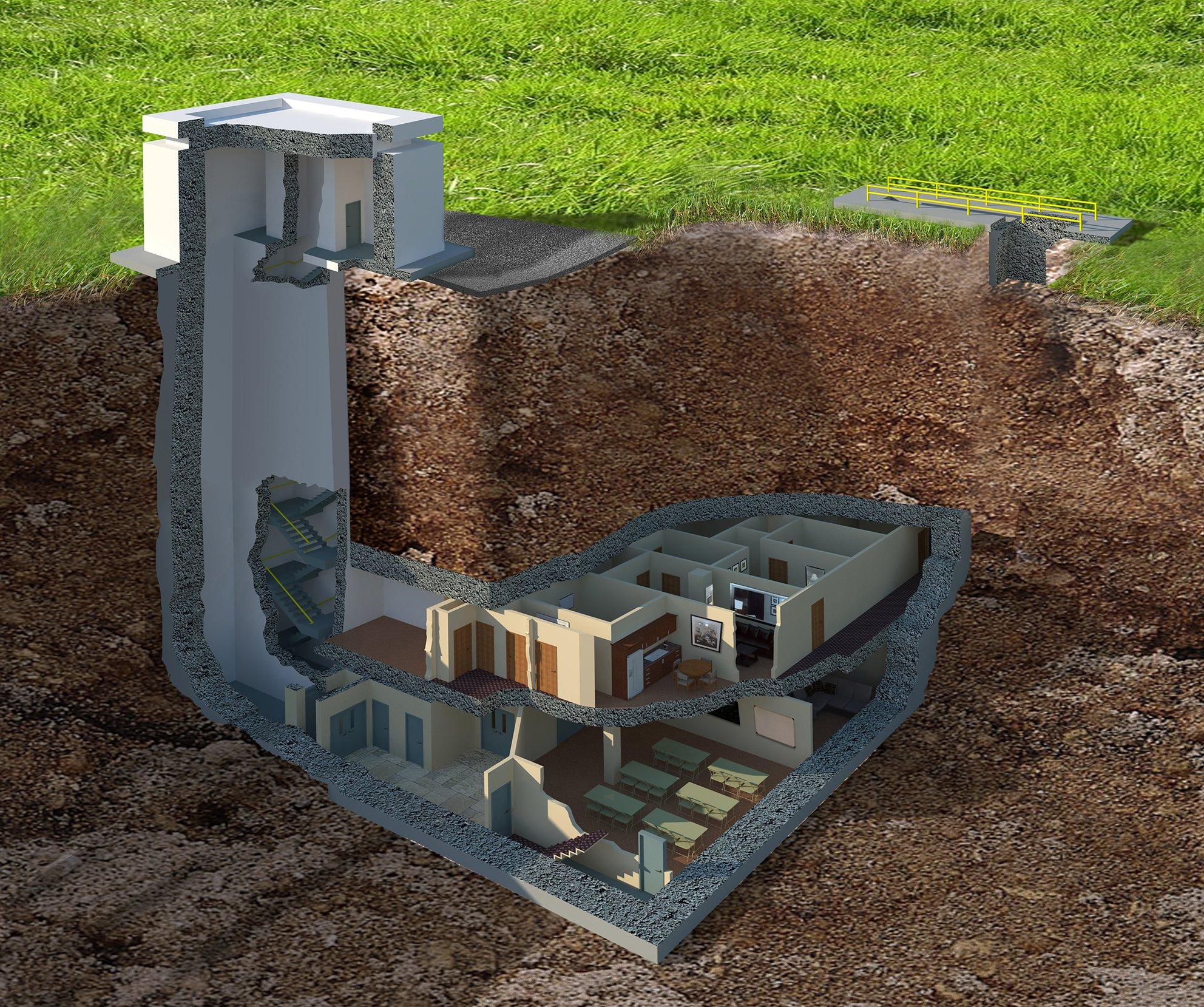 "Uživatel Architectural Digest na Twitteru: ""Massive underground bunker in  Georgia goes on sale for $17.5 million: https://t.co/I7YmtlIhgP  https://t.co/WYszNXxtQ9"""