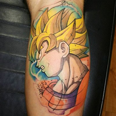 Ink Passion On Twitter Goku Tatuaje Dragonballz Esferas