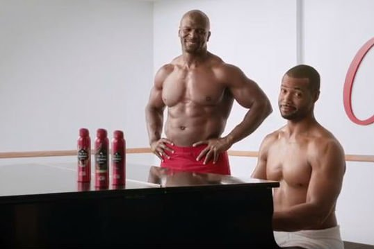See the Spot: Old Spice duo makes real truce three weeks after faux pas. https://t.co/wJmolopn48 https://t.co/oxOiXb4Gav