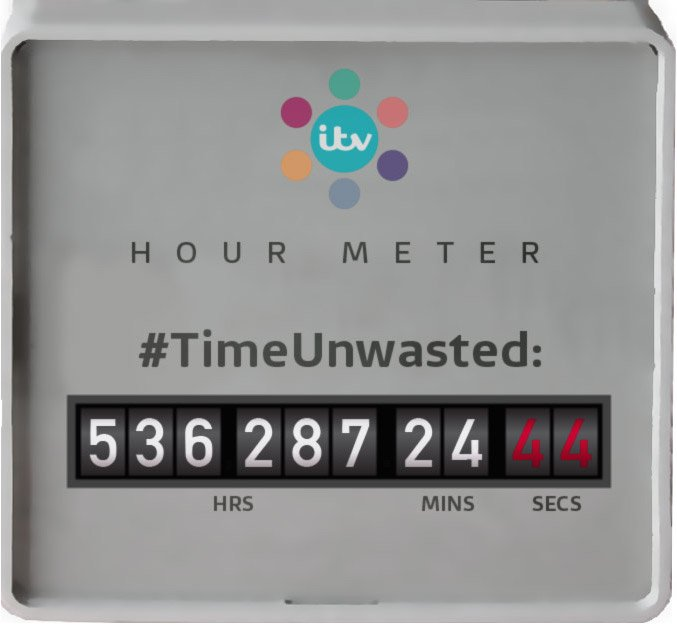 RT @ITV: Amazing... today across the UK we've unwasted over 536,000 hours on @itvhub! That's over 60 years!!! #TimeUnwasted https://t.co/lS…