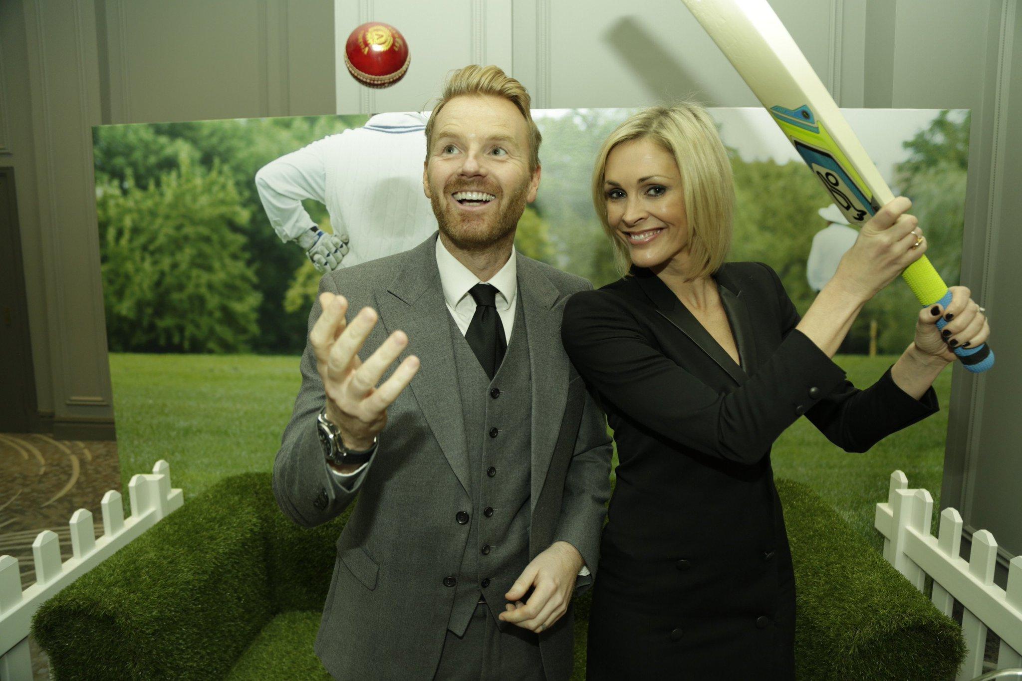 RT @PrideofSport: Sporty couple @Jennifalconer and James Midgley talk cricket! #prideofsport https://t.co/W0GfqFePn6