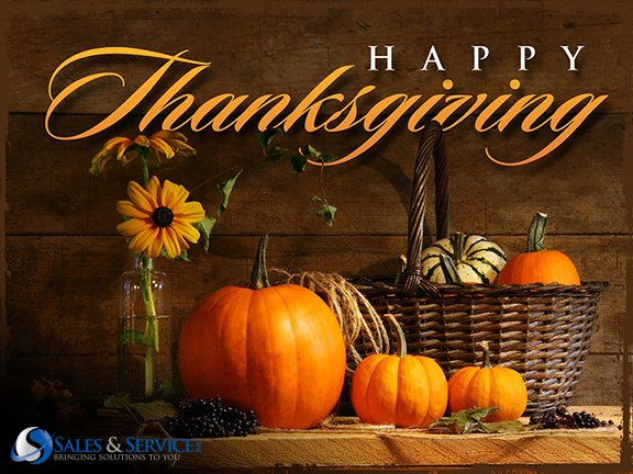 Happy #Thanksgiving! From our families to yours!