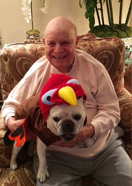 The Rickles Family wishes all a Happy Thanksgiving. Chauncey invites you to dinner if you bring your own bowl. https://t.co/NALqUqBrjz