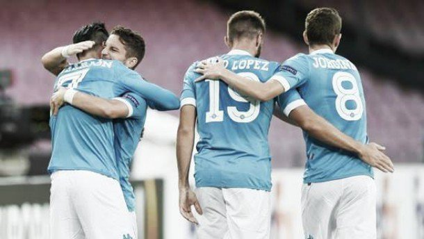 Rojadirecta Bruges-NAPOLI  Streaming Diretta Calcio TV Europa League.