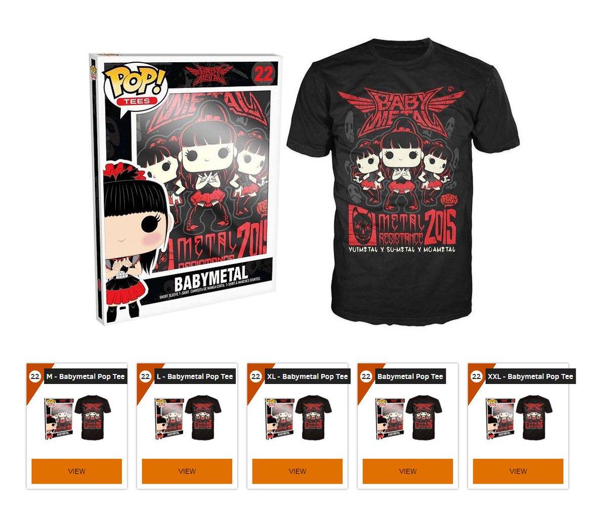 Babymetal Official T Shirt Japanese Kawaii Metal Pixel Tokyo Logo All Sizes