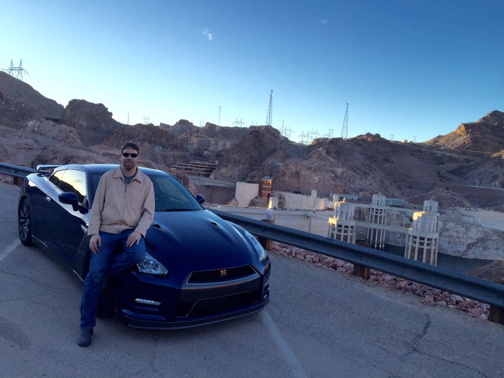 On and I in Vegas for Thanksgiving with the GTR, no regrets in life! https://t.co/e0oivzi0mJ