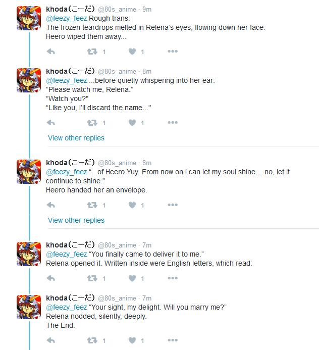 feez on twitter apparently in the final chapter of frozen teardrop