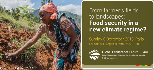 What will #COP21 deliver for food security? Find out 6 Dec at #GLFCOP21 https://t.co/LqhNrPU1n8 https://t.co/JaPKFJ4l85