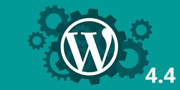 Benvenuti in WordPress 4.4