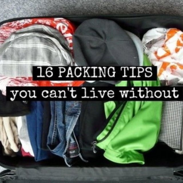 16 Packing Tips You Can't Live Without https://t.co/5LEHLnlJ6V #TT #traveltips https://t.co/3WdH6ymMbn