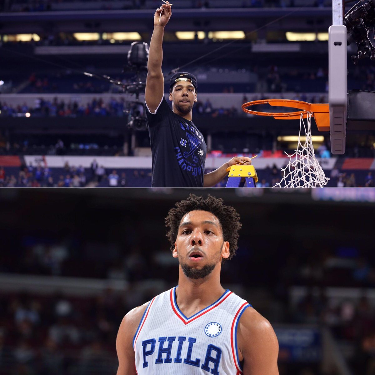 Crazy Stat of Day: Jahlil Okafor's college team has won a title more recently than his pro team has won a game.