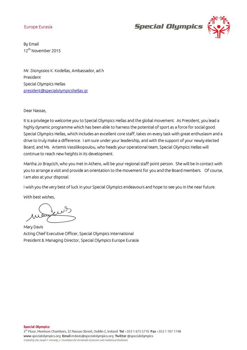 So hellas on twitter welcome letter from mrs davisacting ceo so hellas on twitter welcome letter from mrs davisacting ceo specialolympics to our new president mr kodellas sohellas httpsturuzq0jhhv altavistaventures Images