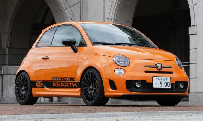 abarth club marbella on twitter orange fiat abarth 500 elaborazione new magneti marelli turbo. Black Bedroom Furniture Sets. Home Design Ideas