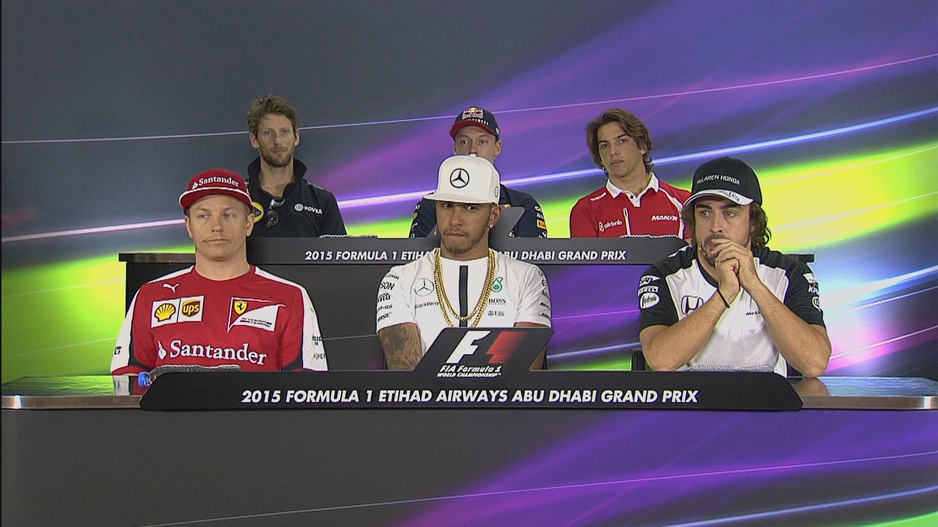 FIA Thursday press conference - Abu Dhabi