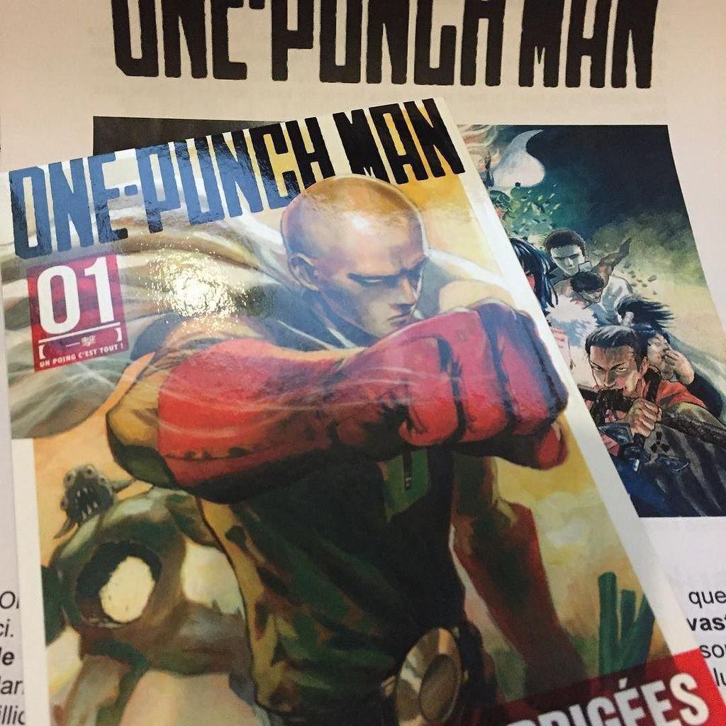 One Punch Man is coming.....#OnePunchMan #Manga #Kurokawa #Japon #classiqueshit #Vegetaces…  http:// ift.tt/1OtuIKz  &nbsp;   <br>http://pic.twitter.com/xQ6ORvxKmI