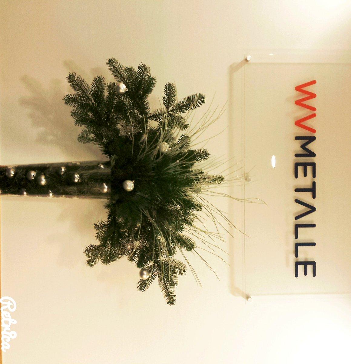 ট ইট র Wvmetalle Weihnachtsdeko Im Buro Steht Wir Sind Bereit Metalle Weihnachten Https T Co Fgnbnkkd4y